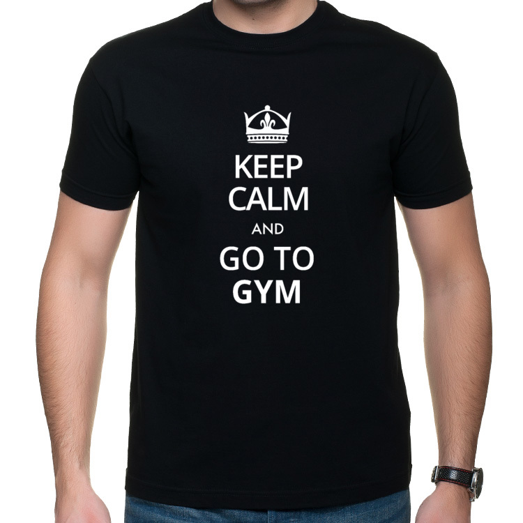Koszulka Keep calm Gym