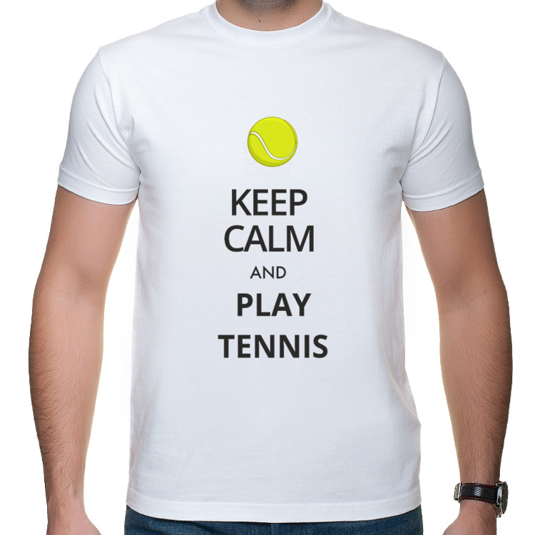 Keep Calm, tenis