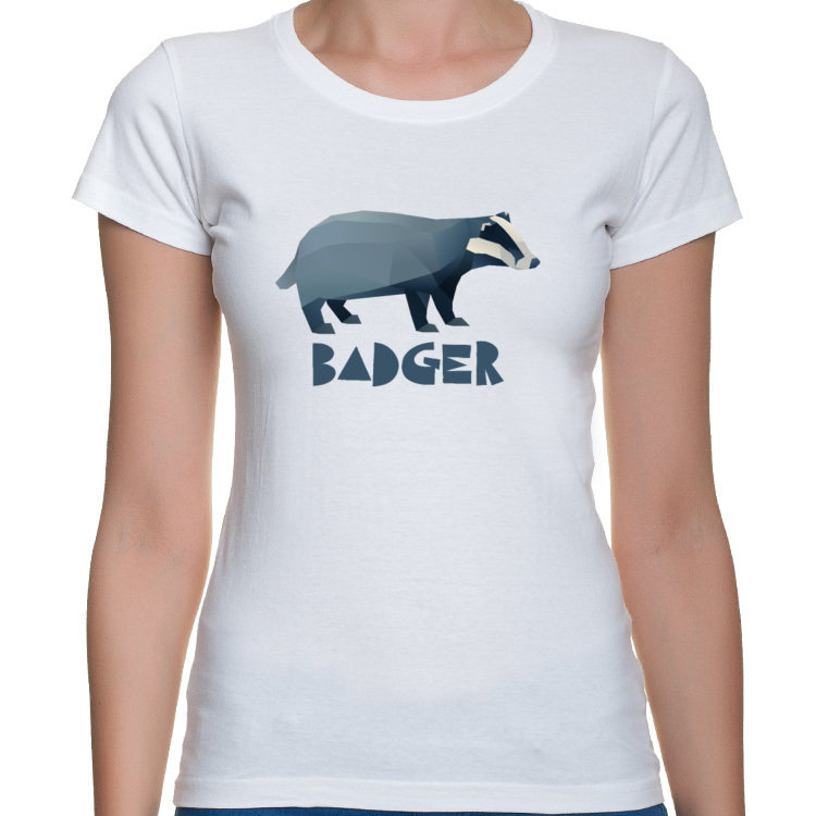 Polygonal badger - borsuk